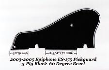 Epiphone ES-175 2003-2005 5-Ply Black Pickguard W/60 Deg Edge Guitar Project NEW