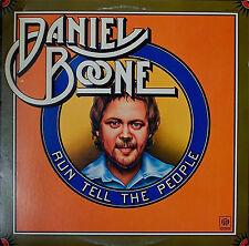 DANIEL BOONE: Run Tell the People-NM1975LP BAS-RELIEF COVER