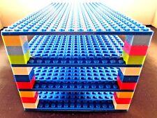 "Genuine LEGO piece-brick+ 4 Blue 5""x10"" Base plates 16x32 compatible with LEGO"