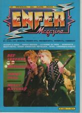 enfer magazine n°1avril 1983 def leppard/ motorhead / jimmy page/ molly hatchet