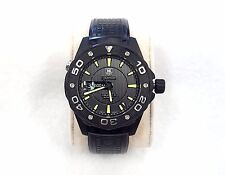 Tag Heuer WAJ2180 Aquaracer 500M Full Black Titanium Calibre 5 Automatic
