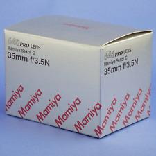 Mamiya 645 35mm 35 N Lens Mint Condition