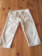 Pepe Jeans VENUS - Shorts Bermuda Damen Hose Beige W24 / 32 / XXS Sommer
