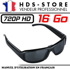 Sunglasses Glasses Spy Camera Sung5 HD 720p+ Micro SD 16 GB Video Photo