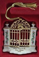 Lenox 1st Year in the New Home 2002 Hand-Painted China Xmas Ornament #6141386
