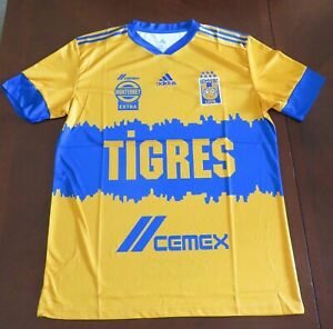 Club de Fútbol TIGRES UANL Soccer Jersey for  2020-2021 Season S-XXL