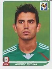 N°059 ALBERTO MEDINA # MEXICO STICKER PANINI WORLD CUP SOUTH AFRICA 2010