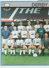 N°135 TEAM 1/2 DERBY COUNTY.FC STICKER MERLIN PREMIER LEAGUE 1997