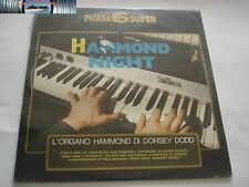 Hammond Night - L' organo Hammond di Dorsey Dodd LP - S/S
