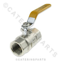 """LE02 3/4"""" LEVER TAP HANDLE GAS SERVICE BALL TYPE ISOLATING ON OFF ISOLATOR VALVE"""