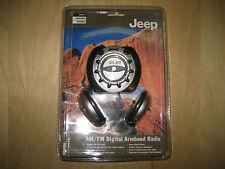 JEEP JXDA300 AM/FM Digital Armband Radio