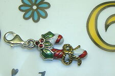 NWOT Brighton christmas candy cane clip clasp lobster claw charm NEW