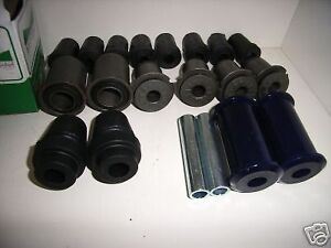 VALIANT FULL FRONT & REAR MACKAY RUBBER SUSPENSION BUSH KIT . NEW