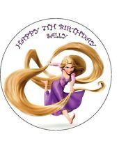 7.5 Raperonzolo contorte Glassa Commestibile Compleanno Cake Topper