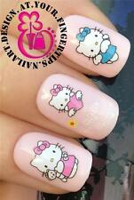 NAIL ART WATER TRANSFERS STICKERS DECALS SET HELLO KITTY ANGEL FAIRY FIGURE #102