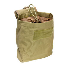 NcSTAR Airsoft Tactical PVC Small Utility Folding Dump Pouch Tan CVFDP2935T