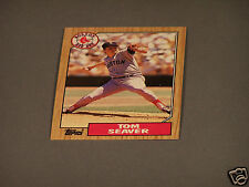 Tom Seaver - Boston Red Sox - Topps Card #425  from 1986