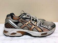 Asics Gel Evolution Men Running Shoes TN8A2 White Copper/silver SIZE 11.5  4E