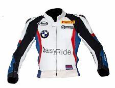 Motorcycle Motorbike Racing Leon Haslam BMW 1000RR WSBK 2011 Leather Jacket