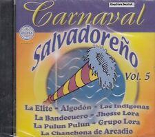 La Elite Grupo Algodon Los Indigenas Carnaval Salvadoreno Vol 5 CD New Sealed