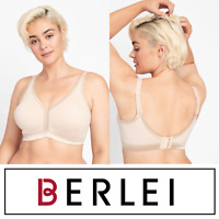Berlei Classic Comfort Lace Trim Wirefree Bra sizes 20E 24D Colour White