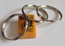 "Split Key Rings.39mm/ 1 1/2"" Round.silver.500 Pcs.free Ship Usa"