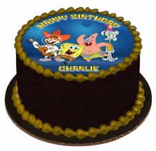 EDIBLE CAKE TOPPER Image Icing Sheet - SpongeBob SquarePants