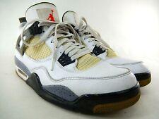 Air Jordan Retro IV 4 'White Cement' Size 10 308497-103