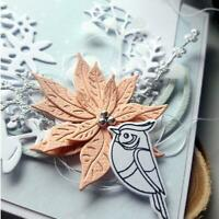 Flower Metal Cutting Dies Card Making DIY Scrapbooking Album Decor Paper Stencil
