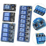 1/2/4/8 Channel 5V Relay Board Module Optocoupler LED for Arduino PiC ARM AVR