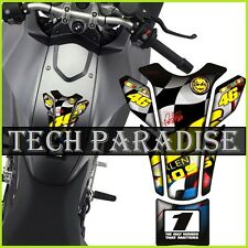 Protection Protège Réservoir Moto Bike tank pad panel gel résine V1 Doctor Rossi