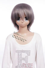W-39 Togainu no Chino AKIRA perruque COSPLAY gris Courte MANGA ANIME