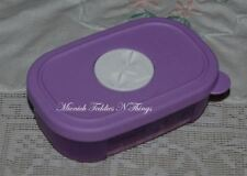 TUPPERWARE MINI SHALLOW FREEZER MATES FREEZER MATE LILAC PURPLE