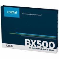 Crucial BX500 120GB/ 240GB/ 480GB/ 1TB/ 2TB 3D NAND SATA 2.5-Inch Internal SSD,