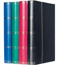 Leuchtturm Einsteckbuch Basic Briefmarken Album Briefmarkenalbum 60 Seiten