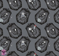 125139302 - Nightmare Before Christmas The Pumpkin King in Iron Fabric By Yard
