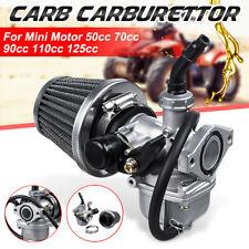 Carb Carburetor w/ Air Filter For  ATV Go Kart Quad 50cc 70cc 90cc 110cc 125cc