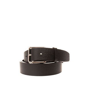 RRP €295 JIL SANDER Leather Belt Size 90/36 HANDCRAFTED Pin Buckle Made in Italy