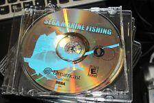 Sega Marine Fishing (Sega Dreamcast, 2000) Disc Only.