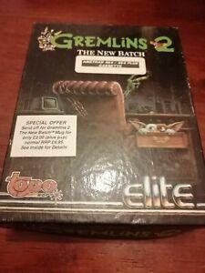 Gremlins 2 The New Batch - Amstrad CPC/Schneider Elite 1990 Tested/Working BBox