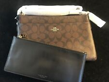 BNWT COACH NEW YORK East/West XBody with Pop Up Pouch XGrain Leather F58316