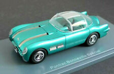 wonderful NEO-modelcar Pontiac Bonneville US Dreamcar 1954 -greenmetallic- 1/43