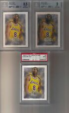 3) 1996 96/97 Fleer Ultra Kobe Bryant Rising Stars PSA 9 BGS 9 9.5 Lot