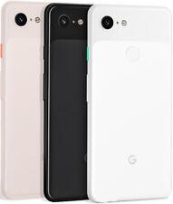 Google Pixel 3 (Unlocked)5.5' Android Smartphone 128GB/64GB  Black-White-Pink