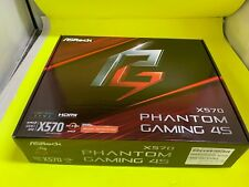 Asrock X570 Motherboard Phantom Gaming 4S AMD X570 AM4 3000 ATX DDR4 PCIE 4.0