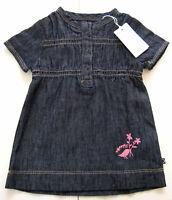KA Kleid Gr.56 Noppies NEU 100% baumwolle jeans denim dünn blau baby sommer