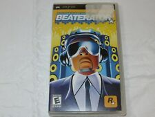 Beaterator Sony PSP 2009 Rockstar Games and Timbaland Rated-E Everyone