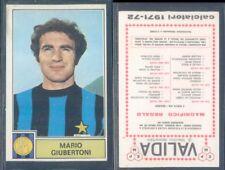 FIGURINA CALCIATORI PANINI 1971/72-INTER,GIUBERTONI-NUOVA,PERFETTA,SUPER!!!