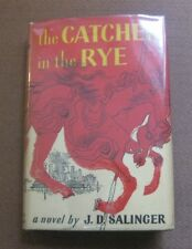 THE CATCHER IN THE RYE by J.D. Salinger - 1st / Grosset & Dunlap 1952 HCDJ -fine