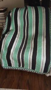 brand new beautiful handmade crocheted afghan